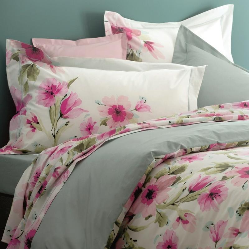 vente housse de couette anne de solene. Black Bedroom Furniture Sets. Home Design Ideas